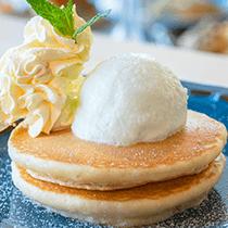 伯方の塩ホイップのパンケーキ